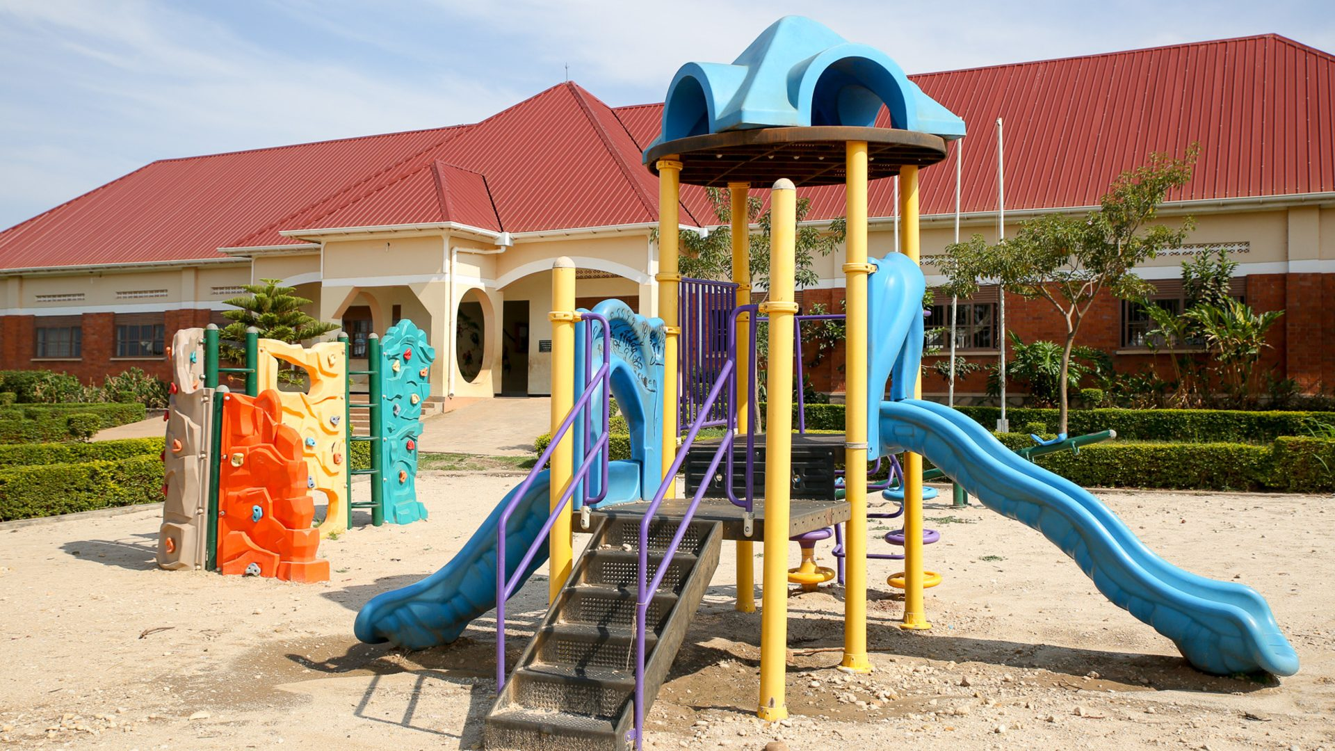 Playground at Mannya Kindergarten