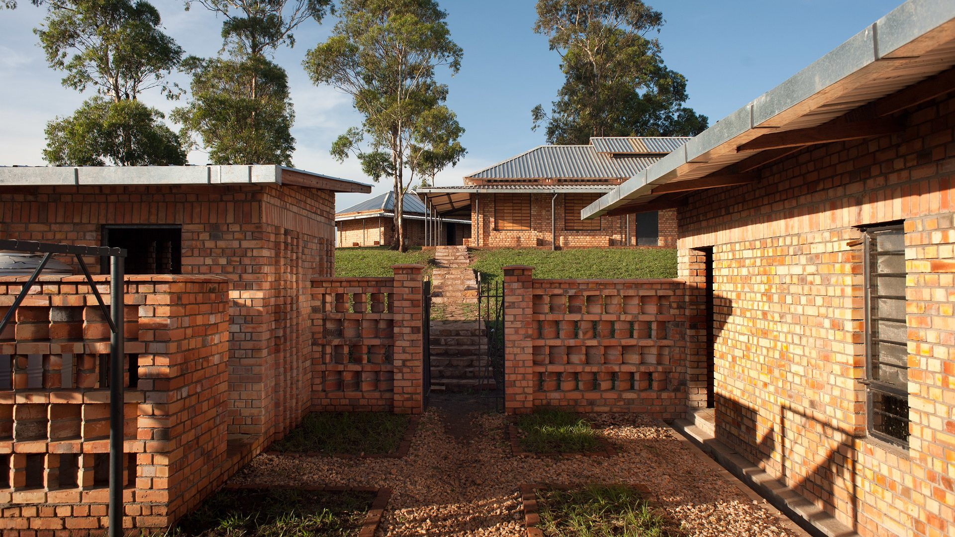 Teachers accommodation buildings